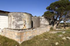 Rainwater Tanks Stock Image