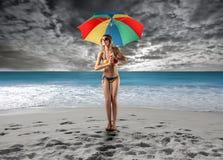 Rainy Royalty Free Stock Images