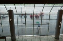Rainy Airport Royalty Free Stock Image