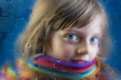 Rainy autumn Royalty Free Stock Photography