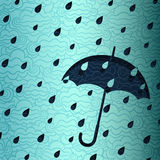 Rainy Banner Royalty Free Stock Image