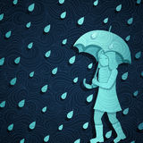 Rainy Banner Stock Images