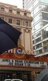 Rainy Chicago Day Royalty Free Stock Photos