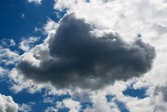 Rainy Cloud Stock Image