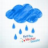 Rainy cloud Stock Photos