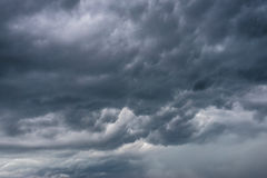 Rainy clouds. Royalty Free Stock Images