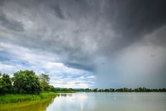 Rainy Clouds Stock Photo