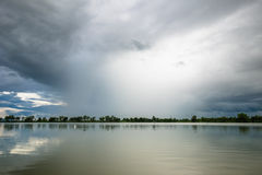 Rainy Clouds Royalty Free Stock Photography