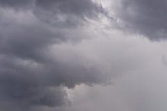 Rainy clouds Stock Image