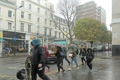 Rainy day in London Stock Photos