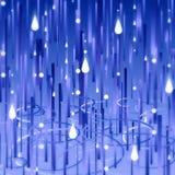 Rainy day. Stylized rain and puddle ripples background Royalty Free Stock Image