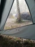 Camping outdoors stock photos