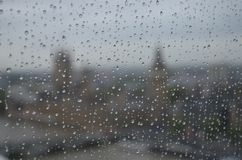 Rainy day in London royalty free stock images