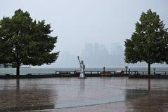 Rainy day in New York City Stock Photo