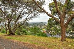 Rainy day in the Park Wilson. Australia. Rainy day in the Park Wilson. The Park is located on the Princes Highway in Berwick in Victoria, Australia royalty free stock images