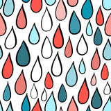 Rainy Day Pattern. Abstract background. Royalty Free Stock Photos
