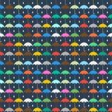 Rainy day pattern Royalty Free Stock Photography