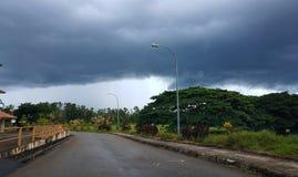 Rainy day. The rain is coming Royalty Free Stock Photo