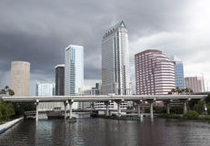 Rainy Day in Tampa Stock Images