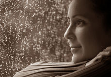 Rainy Day Thoughts Royalty Free Stock Photos