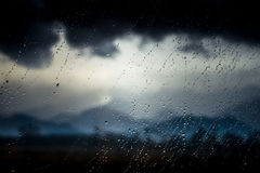 Rainy day in trasylvania Royalty Free Stock Photography
