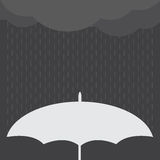Rainy Day vector illustration. Royalty Free Stock Images