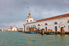 Rainy day in Venice Royalty Free Stock Photography