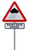 Rainy Days Ahead Stock Photos