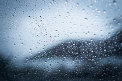 Rainy days,Rain drops on window,rainy weather,rain background Royalty Free Stock Photography
