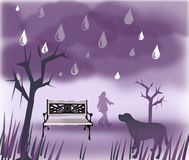 Rainy Days Royalty Free Stock Images