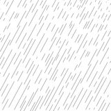 Rainy diagonal lines pattern. Rainy background, rainy day, rain drops, rain falling poster, water drops banner, dynamic black lines on white. Fall season Stock Photo