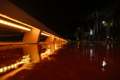 Rainy evening Stock Images