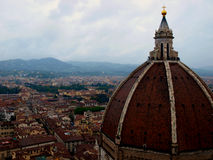 Rainy Florence, Italy and The Duomo. Rainy Florence, Italy, view from the top Stock Photography