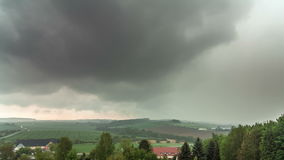 Rainy Hills Time Lapse Stock Images