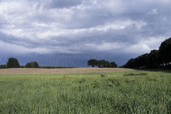 Rainy landscape Royalty Free Stock Photos