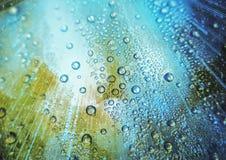 Rainy lights Royalty Free Stock Photos