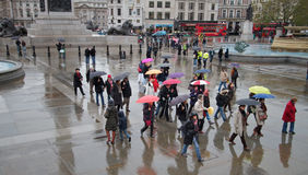 Rainy London Stock Images