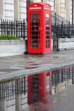 Rainy London Stock Photo
