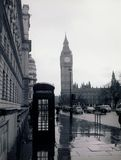 Rainy London Royalty Free Stock Photography