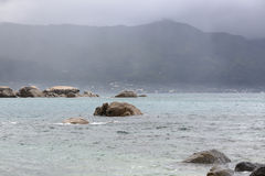 Rainy Mahe, Seychelles Stock Photo