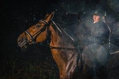 Rainy moment Royalty Free Stock Images