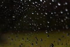 Rainy mood. Window car gloomy royalty free stock photos