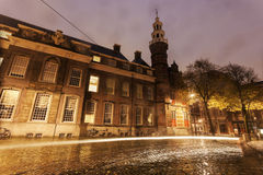 Rainy morning in Hague Stock Photos