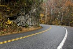 Rainy Mountain Curve Royalty Free Stock Photos