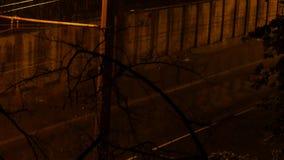 Rainy night , thunder, lightning. 4K UHD. Rainy night , thunder, lightning 4K UHD native video stock video footage