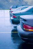 Rainy Parking Lot Stock Photos