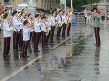 Rainy performance Royalty Free Stock Photo
