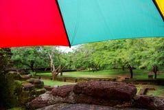 Rainy Polonnaruwa Stock Photo