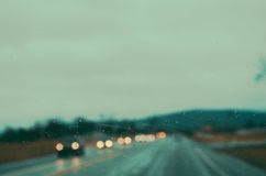 Rainy Road 5 Stock Image