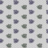 Rainy seamless pattern Royalty Free Stock Image